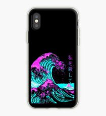 Aesthetic: The Great Wave off Kanagawa - Hokusai iPhone Case