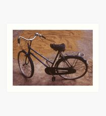 Vietnamese bicycle Art Print