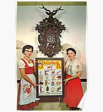 Schnitzelbank Poster