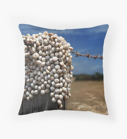 Who's on top? Throw Pillow