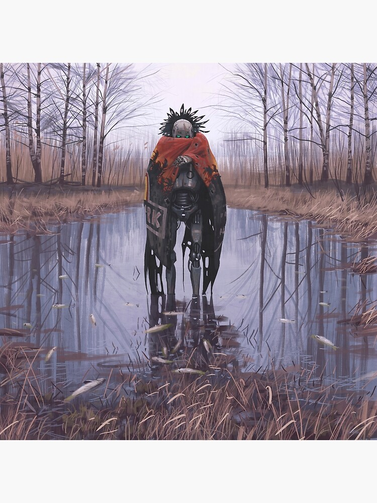 Vagabonds - Dead Fish by simonstalenhag