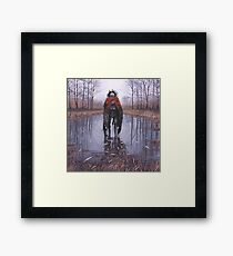 Vagabonds - Dead Fish Framed Print