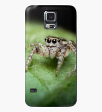 Jumping Spider Macro Case/Skin for Samsung Galaxy