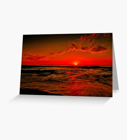 """""""Sunrise at Cathedral Rock"""" Greeting Card"""