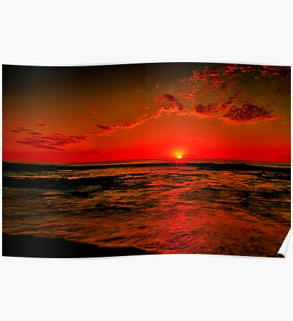 """""""Sunrise at Cathedral Rock"""" Poster"""