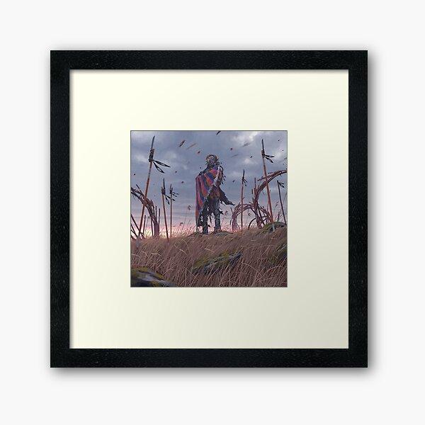 Vagabonds - The Lord With The Ice Cream Umbrella  Framed Art Print