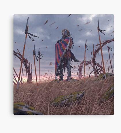 Vagabonds - The Lord With The Ice Cream Umbrella  Canvas Print