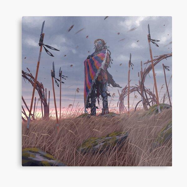 Vagabundos - El Señor Con El Paraguas Helado Lámina metálica
