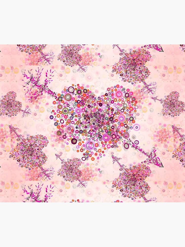 valentines day graphic heart by rvalluzzi
