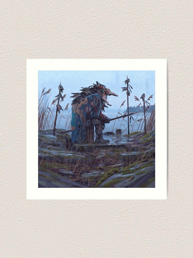 Alternate view of Vagabonds - The Pike Lord Art Print