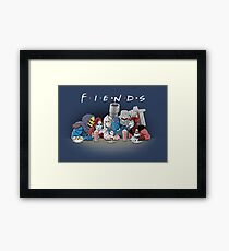 FIENDS Framed Print