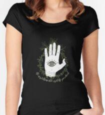 Camiseta entallada de cuello ancho Adam, The Magician - El ciclo de cuervo