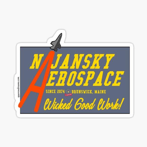 Najansky Aerospace Sticker