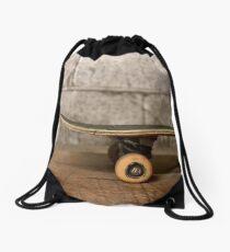 Skate art Drawstring Bag