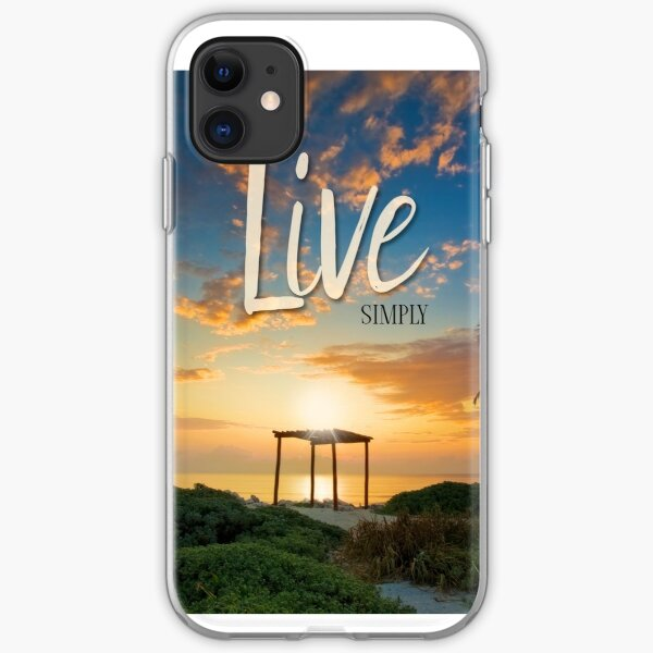 Live Laugh Love - Give Back to Nature iPhone Soft Case