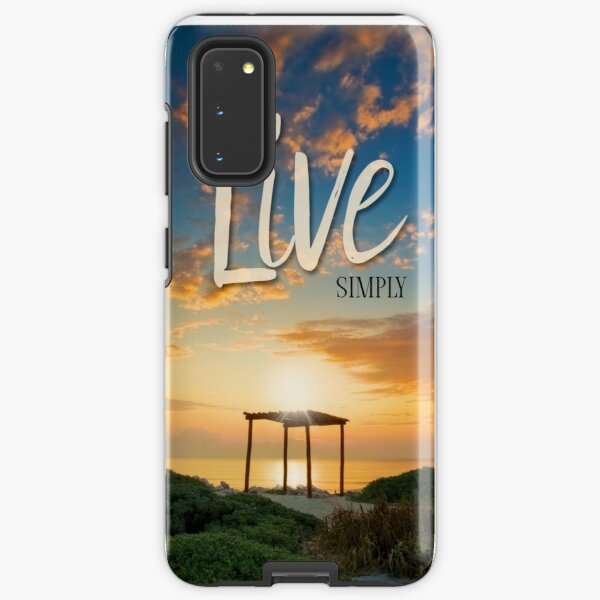 Live Laugh Love - Give Back to Nature Samsung Galaxy Tough Case