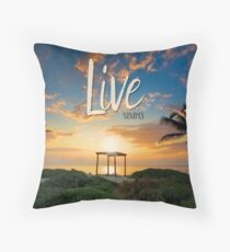 Live Laugh Love - Give Back to Nature Throw Pillow