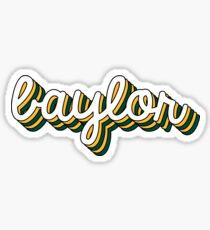 Baylor Retro Sticker