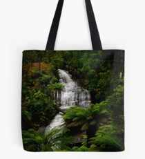 All downhill from here. Tote Bag
