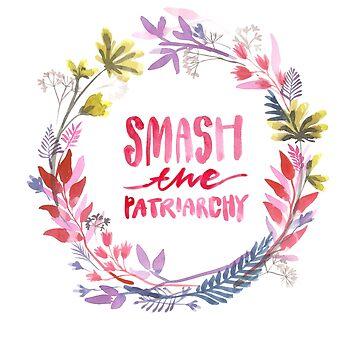 smash the patriarchy by klamotystudio