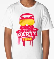 party time owl Long T-Shirt