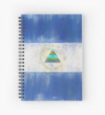 Nicaragua Flag Reworked No. 1, Series 2 Spiralblock
