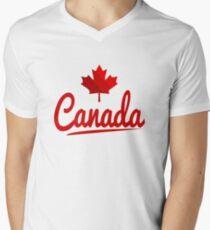 Canada Men's V-Neck T-Shirt