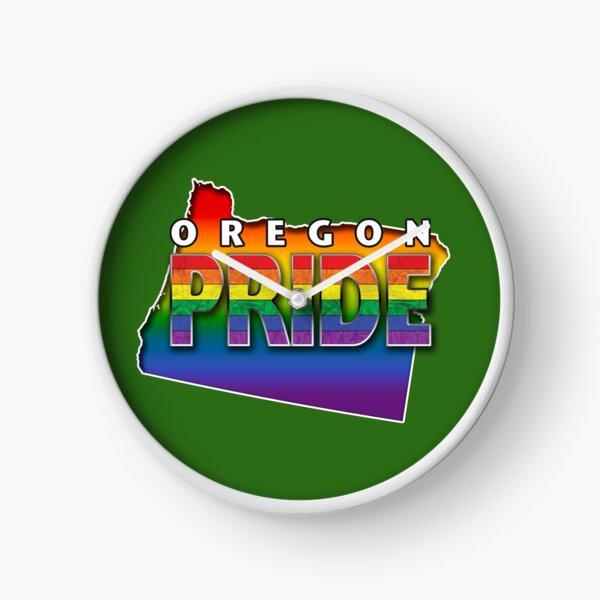 State PRIDE - Oregon Clock