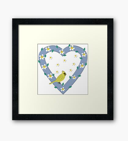 Spring is Coming! Framed Print