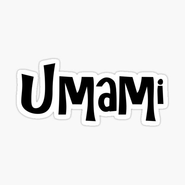 Umami Sticker