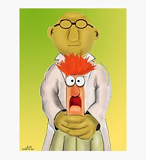 Bunsen and Beaker Photographic Print