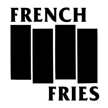 French Fries- Black by ErikVogt