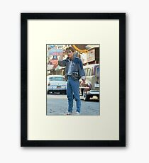 marty mcfly back to the futur Framed Print