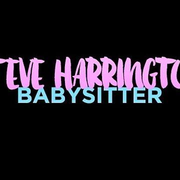 Steve Harrington Babysitter by LenaG56