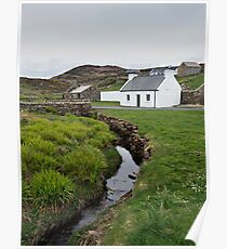 A Donegal Cottage Poster