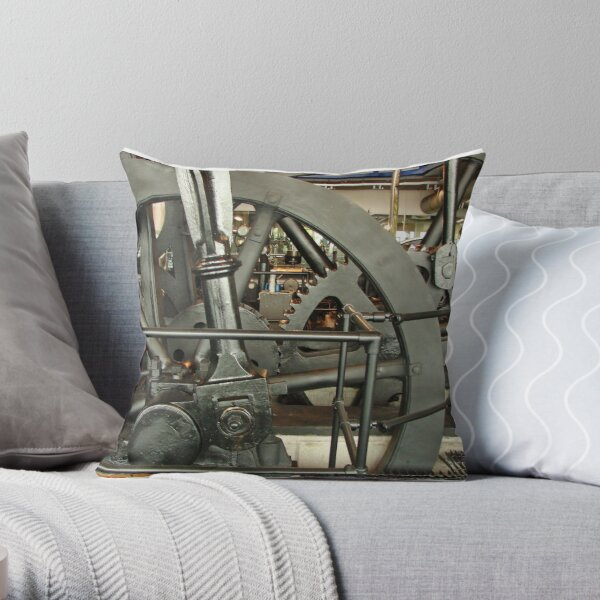 SteamPunk, #SteamPunk,  #science #fiction, science #fantasy,  #ScienceFiction, #ScienceFantasy, #anachronistic #technologies, #retro-futuristic  Throw Pillow