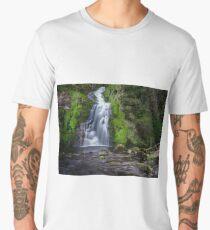 Assaranca Waterfall, Ardara Men's Premium T-Shirt