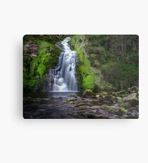 Assaranca Waterfall, Ardara Metal Print