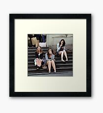 review Framed Print