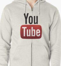 Youtube Zipped Hoodie