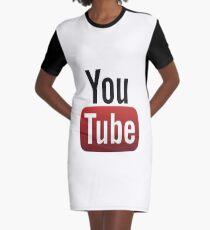 Youtube Graphic T-Shirt Dress