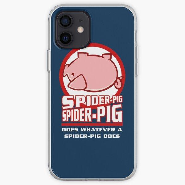 Spider-Cochon Coque souple iPhone