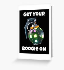 Get Your Boogie On Greeting Card
