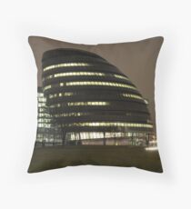 the GLA building Throw Pillow