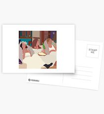 Monica, Rachel, & Phoebe Postcards
