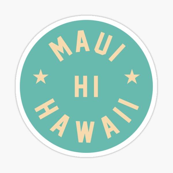 Maui - Hawaii Sticker
