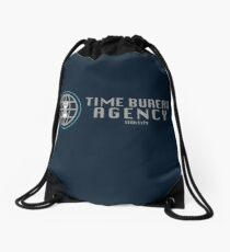 Time Bureau Agency Drawstring Bag