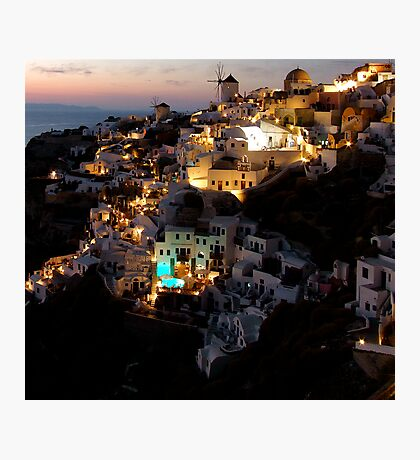 NIGHT IN GREECE Photographic Print
