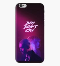'Boy Don't Cry' art iPhone Case