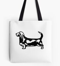 The Noble Basset Hound Tote Bag